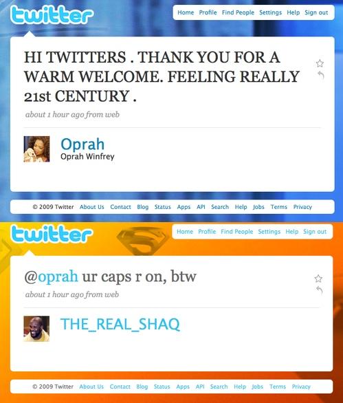 Oprah Shaq