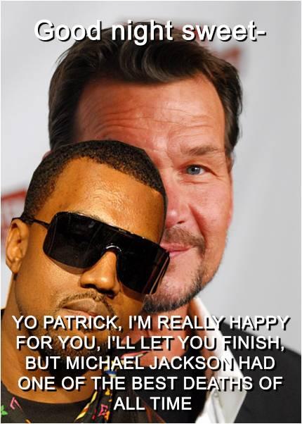 Kanye Interputs Patrick